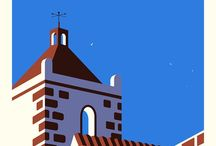 City & Town Illustration