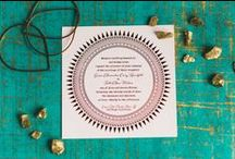 Bohemian Inspired Wedding / Bronze, Brass, Copper, soft pinks, succulents, citrine, circular, whimsical, vessels, dream catchers, circle ceremony, wedding invitations, modern,
