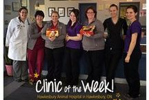Clinic of the Week / Recognizing some of the excellent veterinary clinics we're partnered with across Canada!