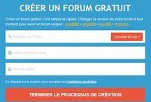 Nouveautés Forumactif / Nouveau formulaire de création de forum sur Forumactif.com pour créer un forum en quelques secondes