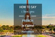 "Languages of Love / How to say ""I love you"" in different dialects"