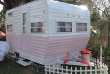 Glamping/ Vintage Campers / by Donna Thomson