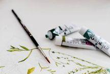 Paint & Pencil / 2D illustration and art. Digital or oldschool illustrations and artwork.
