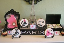 Miss Piggy Paris Party Inspiration / Paris themed party with a Miss Piggy/Muppets twist! / by Lynlee's
