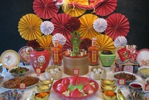Chinese New Year Party Inspiration / Ideas to celebrate the Chinese or Lunar New Year.