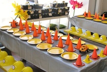 Construction Party Inspiration / Fun and creative ideas for a construction-themed party