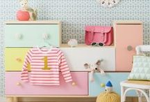 Vintage Inspired Baby and Kid's Decor / Rooms for children with a vintage feel.