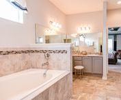 Beautiful Bathrooms / Bathing beauties - these are some great bathroom designs.  Browse our Florida new home plans and see more fabulous bath layouts and photos at www.highlandhomes.org.