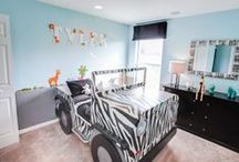 Creative Kid's Rooms / Fun, fanciful and functional - Great characteristics in kid's bedrooms.  Here are some examples of some fantastic kid's rooms.  Browse our Florida new home plans and see more bedroom pictures and videos at www.highlandhomes.org.