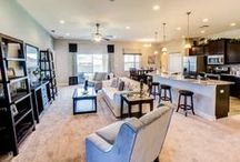 Great Gathering Spaces / Home is the place to gather with friends and family, smile, laugh and make memories. Browse our Florida new home plans and find the perfect new home to live and laugh in at www.highlandhomes.org.