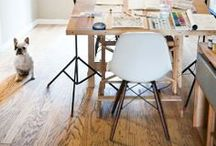 Work Space / by Greer Shively
