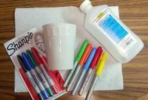 From Meredith to Crafts / These are EASY crafts - crafts that even I, not a crafty mom, can probably do.