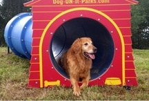 Dog Days / Dog Park Equipment & Accessories for a Pet-Friendly Play Environment.  / by CADdetails