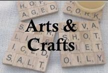 Arts & Crafts / Arts & Crafts for the not-do artsy and crafty! / by Luci Petlack (Luci's Morsels)