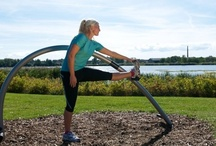 Fitness Equipment / Get fit outdoors! / by CADdetails