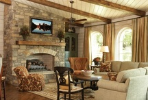 Fire │ Interior │Exterior / Fireplaces, Mantels, and Surrounds.  / by CADdetails