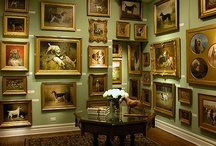 Gallery Walls and Fabulous Pictures / Gallery walls and fabulous framed prints, photos, and mirrors