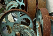 OLD PULLEYS