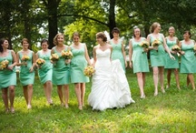 weddings . shades of green / by Before the I Do's.com