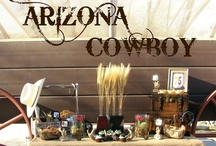 Cowboy Party Inspiration / Ideas to throw a grown-up western-themed party.