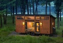 Small spaces / Tiny houses for sale, products and tips for small spaces, and more. / by Yahoo Real Estate
