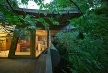 Leafy High Designs / Treehouses: The best of restaurants, retreats and full-time-live-in residences. / by CADdetails