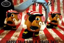 Pirate Party Inspiration / Ideas for a pirate-themed celebration.