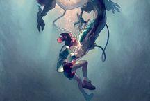 Miyazaki | Studio Ghibli / by Elizabeth Abel