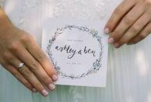 wedding stationery / All stationery by Emma Jo www.emmajo.co.uk