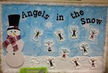 Preschool: Winter bulletin boards / (December, January, February)  / by Gaby Chavoya