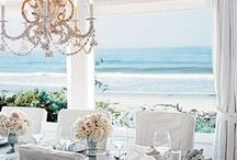 LET'S GO COASTAL! / ROOMS THAT GIVE A BEACHY VACATION FEEL.
