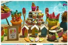 Surf Pool Party Inspiration / by Lynlee's