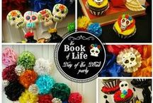 Day of the Dead Party/Book of LIfe Inspiration