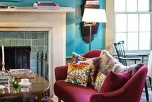 2015 Color Trends / Every year, color experts put their heads together to anticipate home decor trends. For 2015, PPG's The Voice of Color has selected Blue Paisely, a lavish and bohemian blue, and the color experts at Pantone chose Marsala, a rich red-brown, as their 2015 Color of the Year picks. Here are some ways you can decorate with these trendy colors for 2015! For more tips from our professional decorators, visit http://www.highlandhomes.org/news/2015/01/decorate-florida-home-2015-color-trends.