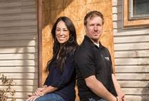 """Joanna Gaines, Magnolia Farms & Fixer Upper / Love """"Chip and JoJo,"""" love the TV show and, most of all, I love the way Joanna stages a tabletop or bookshelf! / by Virginia Bates"""