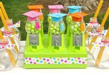 Break Out the Bubbly / Bubble-themed preschool graduation party styled for @evite