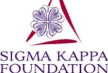 Sigma Kappa Foundation / The Sigma Kappa Foundation has been committed to supporting the Heart of Sigma Kappa for more than 50 years.  We have a powerful vision for our dynamic organization to remain strong…one that assures Sigma Kappa continues to grow, innovate and thrive.  http://www.sigmakappafoundation.org/  Simply stated, we must make the heart of our sorority strong…strong enough to beat for generations to come.