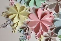 DIY Flower Decor / Decorate your space with beautiful flower decor with full tutorials and easy to find materials. Perfect for parties, weddings, and making your home or workspace beautiful!