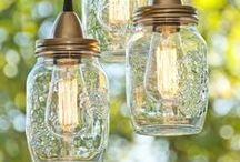 Lights and Lighting / Light up your home, office, and outdoor areas with beautiful DIY lights and the perfect lighting!