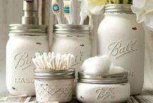 Mason Jar Crafts / Crafts and projects with mason jars!