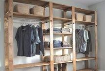 Closet Solutions / Closet organization, makeover and best closet setup for your home!