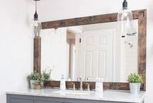 Bathroom / Bathroom makeover ideas, bathroom organization and DIY. Beautiful bathroom colors and decor ideas for your home.