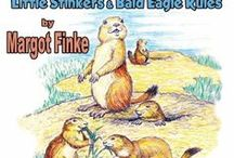 Margot's US Animal BOOKS / Picture books in rhyme and plain text that offer FUN FACTS about US critters.