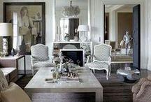 Home - Living rooms / Living Rooms // Salons // Dining rooms // Salle à manger // Libraries // Bibliothèques // Pièces à vivre / by L' Irrégulière