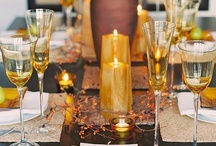 dinner to impress / amazing table settings along with delightful refreshments....