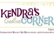 MY CREATIONS {kendra's corner}...