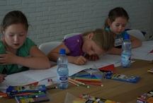 Dzień dziecka - warsztaty plastyczne / Children's Day - workshop