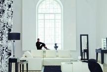Biały salon / White living room