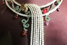luxe for less or....not? / polymer clay, felt, beads,wire.....or diamonds, emeralds, rubies...? A beautiful jewel doesn't have to be expensive...on the othe hand...diamonds last for ever!!!!