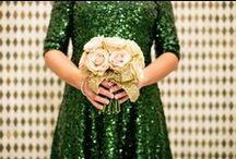 Emerald Weddings - 2013 Color Of The Year / by DIY Bride